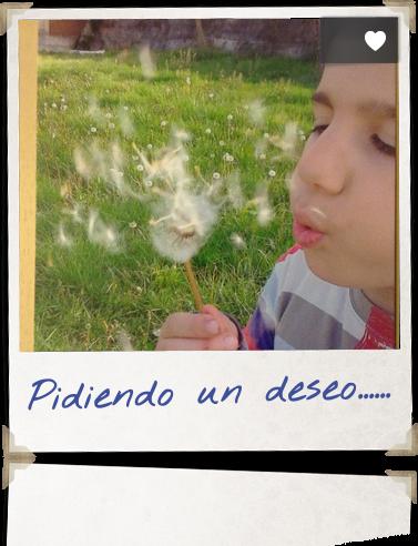 Pidiendo un deseo......